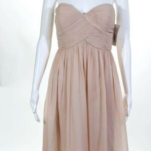 Donna Morgan Silk NEW Zip Sweetheart Dress size 4